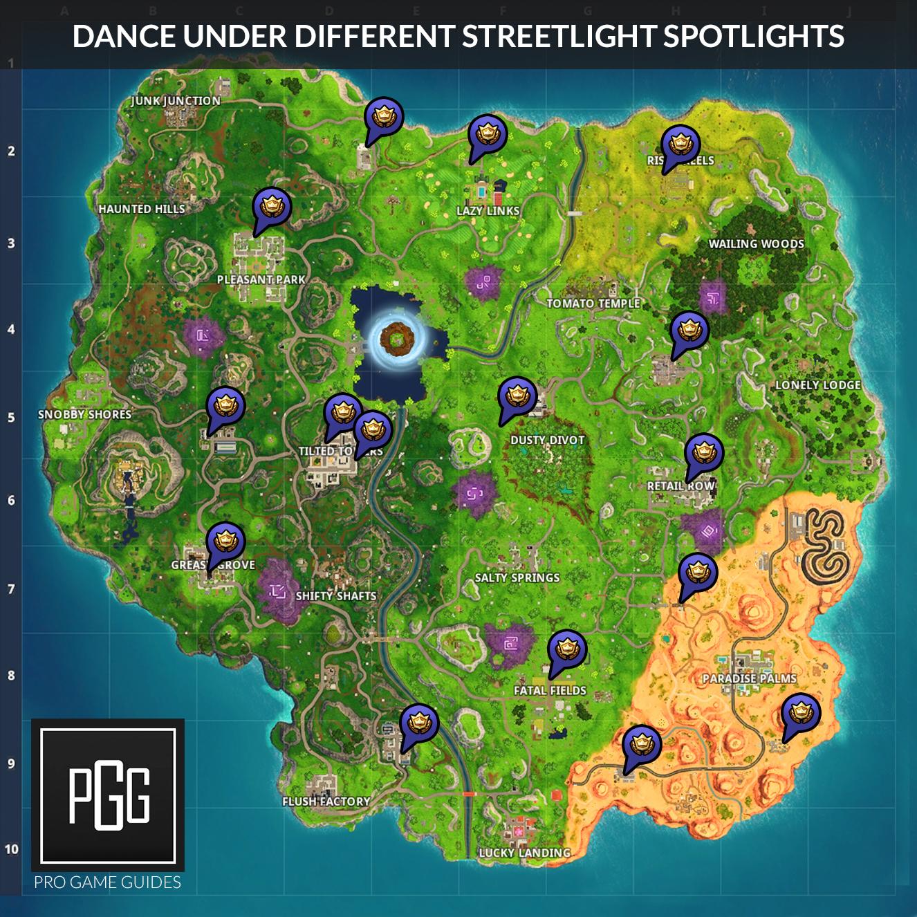 Fortnite Season 6 Week 1 Challenges List, Cheat Sheet