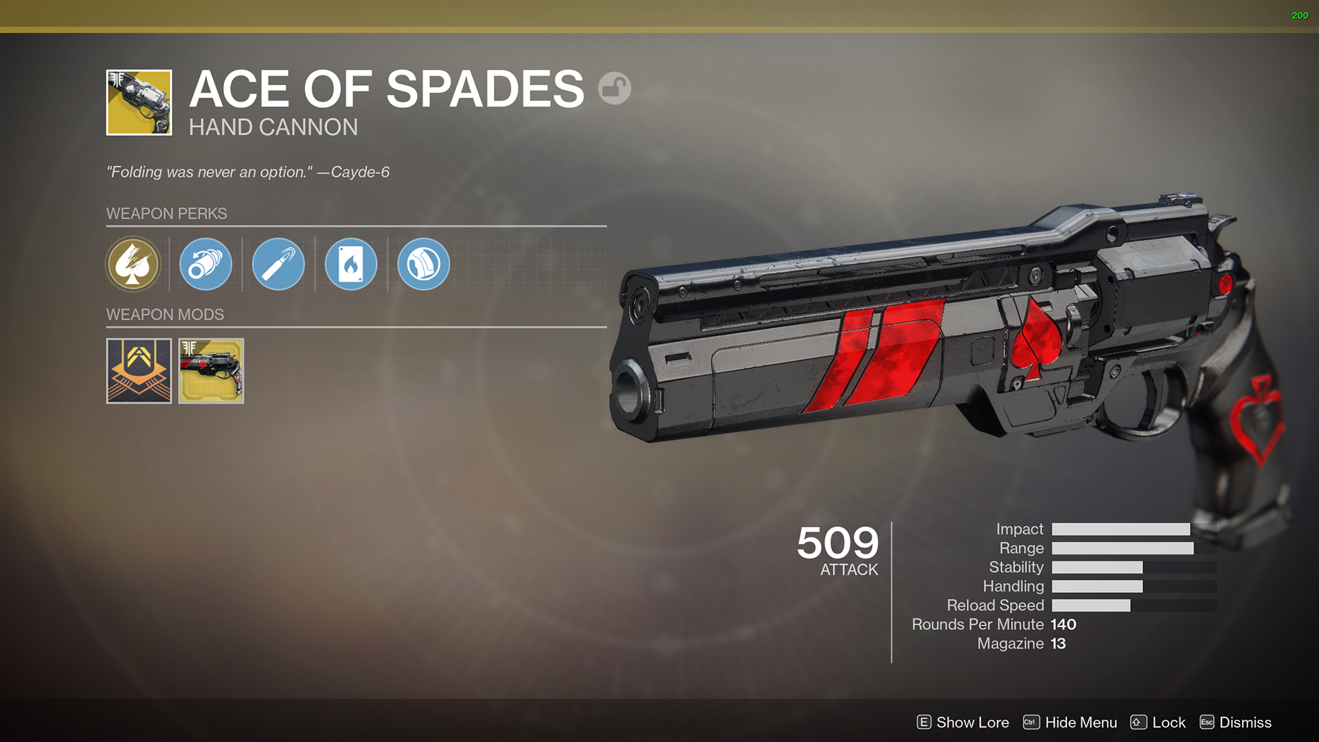 How-to Get Ace of Spades – Quest Steps Guide (Exotic Hand Cannon