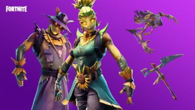 scarecrow skins - fortnite season 8 wallpaper 4k