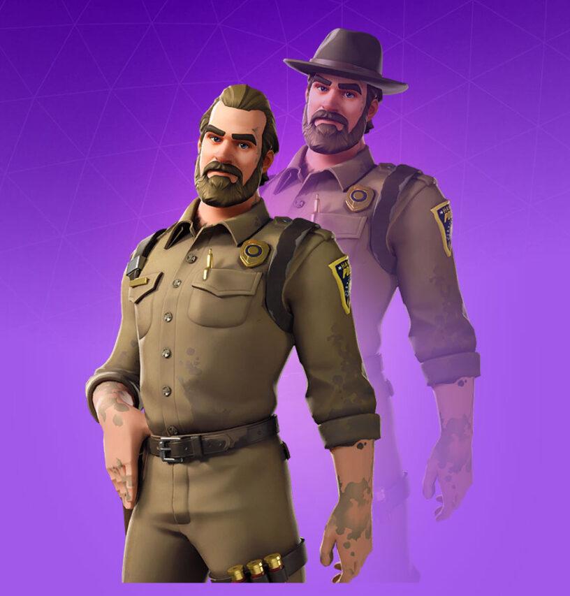 Chief Hopper Skin