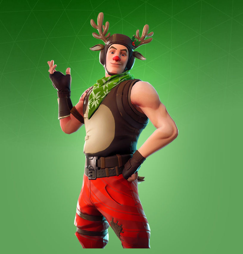 Red-Nosed Ranger Skin