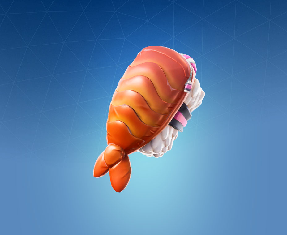 Fortnite shrimpy back bling pro game guides - Sushi skin fortnite ...