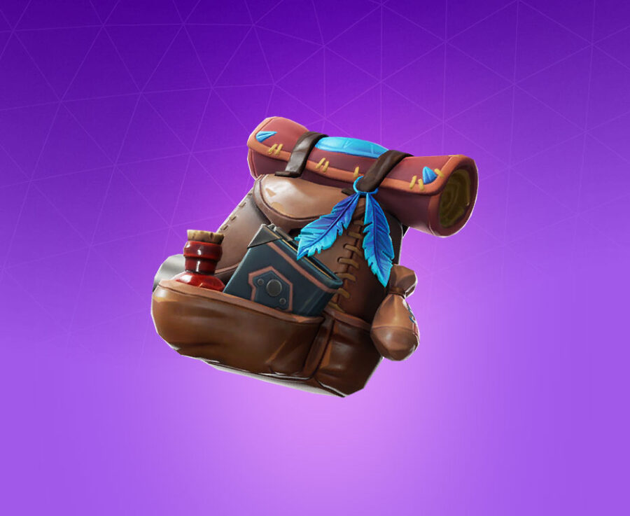 Tome Pouch Back Bling