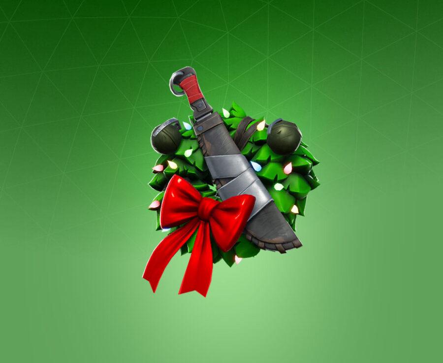 Combat Wreath Back Bling