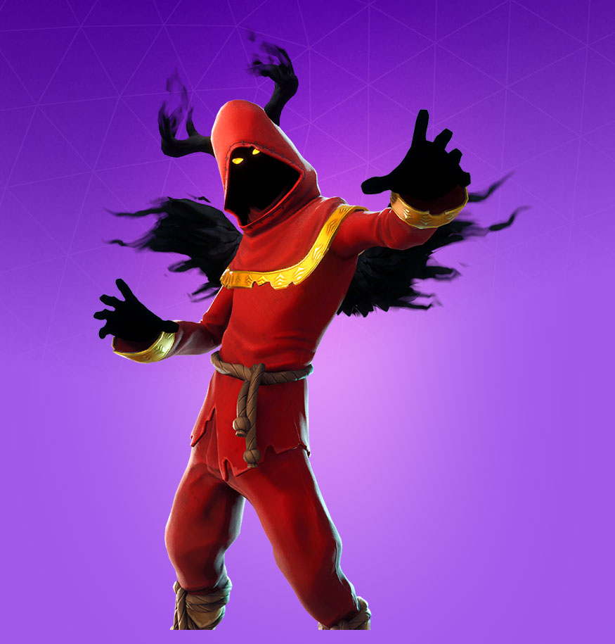 cloaked shadow - what was the first skin released in fortnite