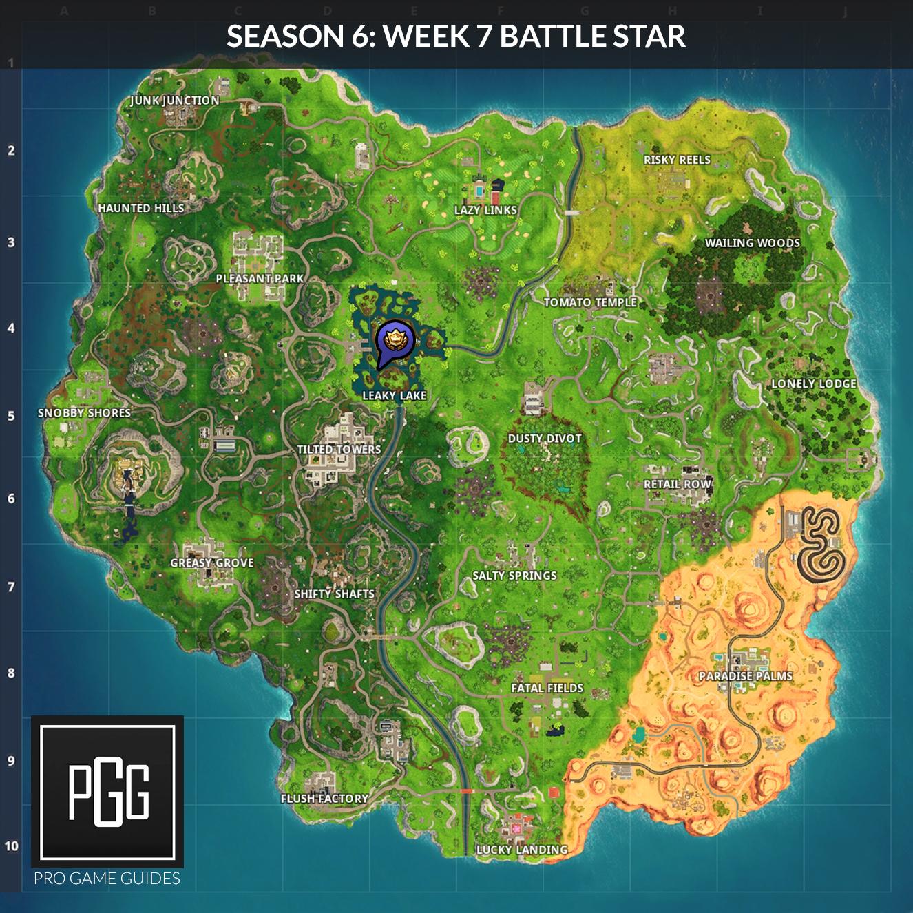 week 7 secret battle star