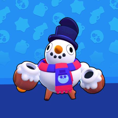 Brawl Stars Snowman Tick Skin