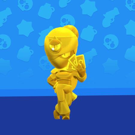 Brawl Stars True Gold Tara Skin
