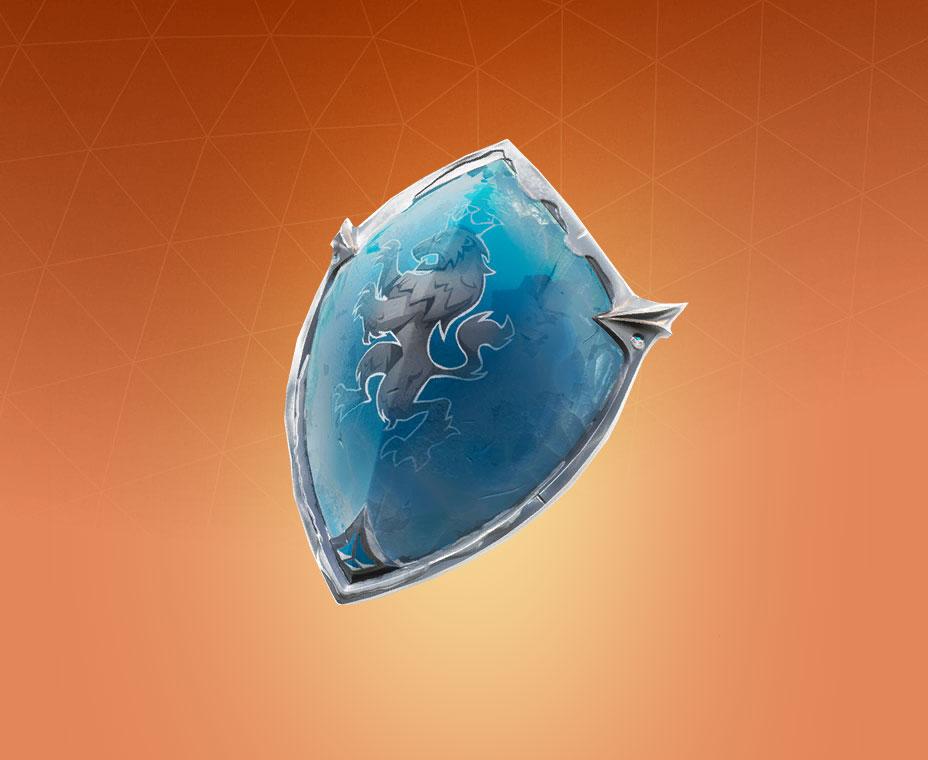 Frozen Red Shield