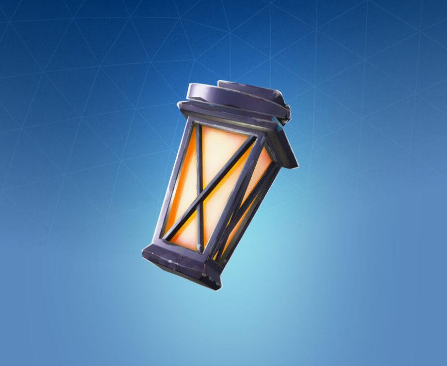 Luminous Lamp Back Bling