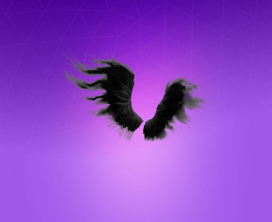 Shadow Wings Back Bling