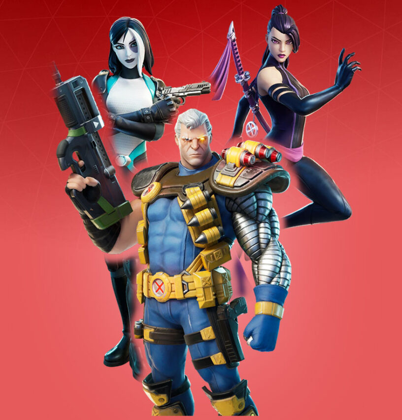X-Force Outfits Bundle