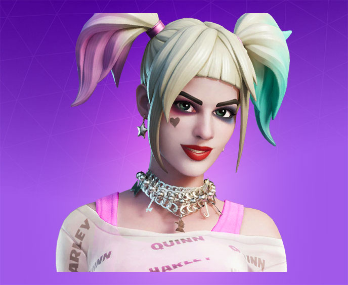 Fortnite Harley Quinn Skin Character Png Images Pro Game Guides