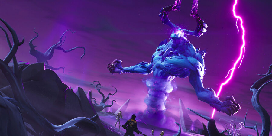 Storm King Loading Screen