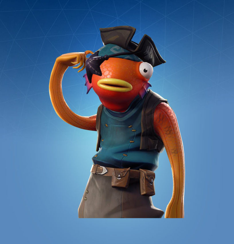 Fortnite Fishstick Skin Outfit Pngs Images Pro Game