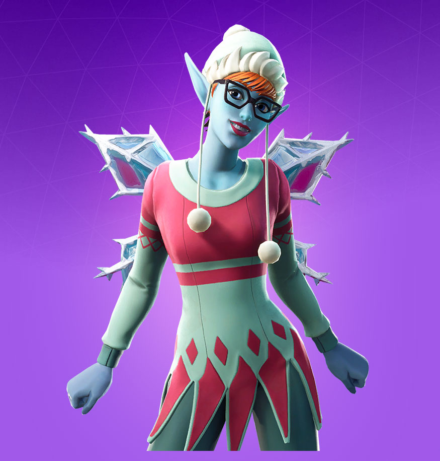 Fortnite Sugarplum Skin - Outfit, PNGs, Images - Pro Game Guides