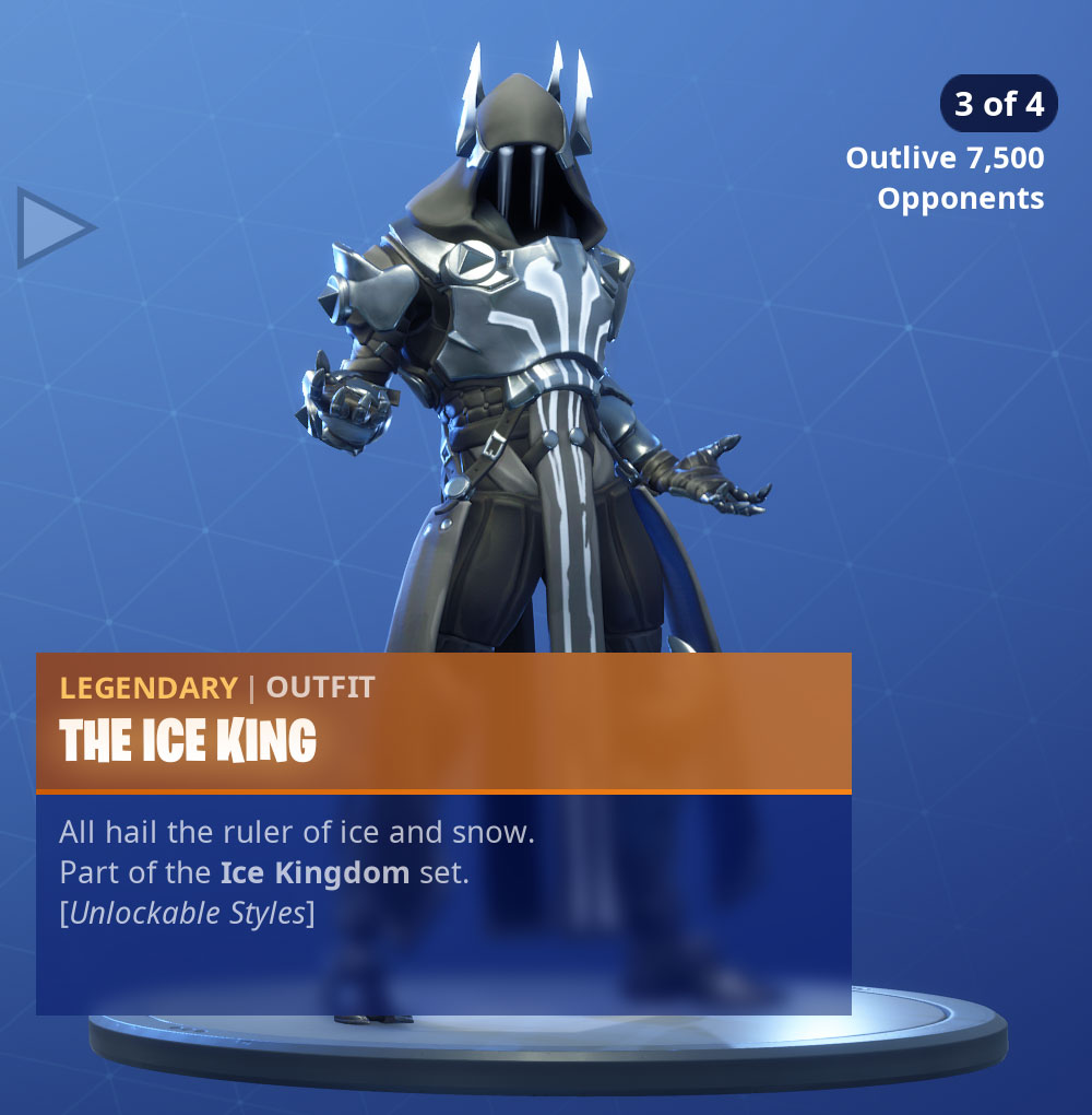 Fortnite The Ice King Skin Pro Game Guides