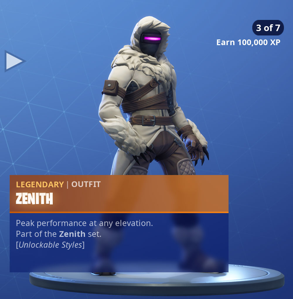 Zenith Hd Fortnite Fortnite Zenith Skin Character Png Images Pro Game Guides