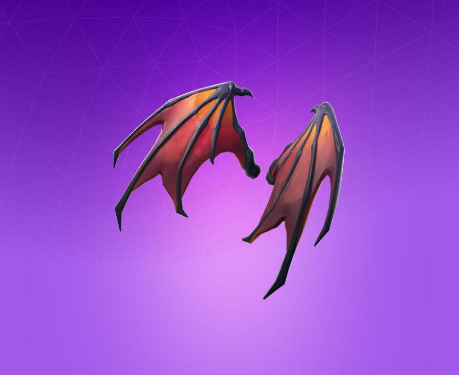 Malcore Wings Back Bling