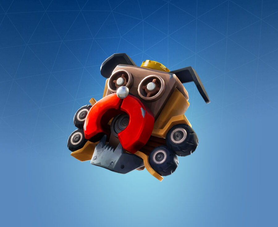 Scrappy Back Bling