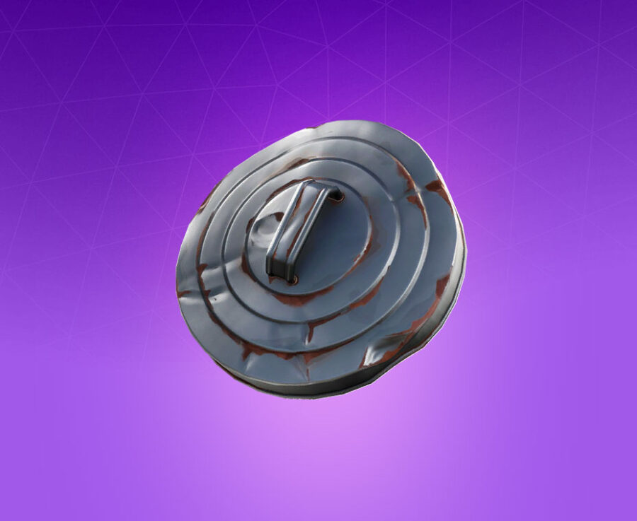 Trash Lid Back Bling