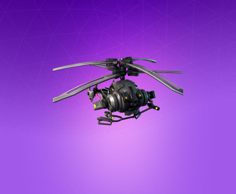 Coaxial Copter Glider