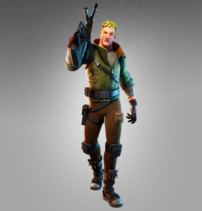 Jonesy (Default) Skin