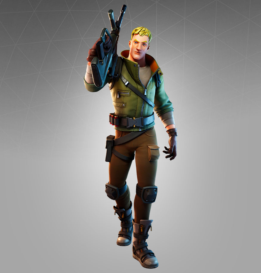 Fortnite Jonesy Skin - Character, PNG, Images - Pro Game Guides