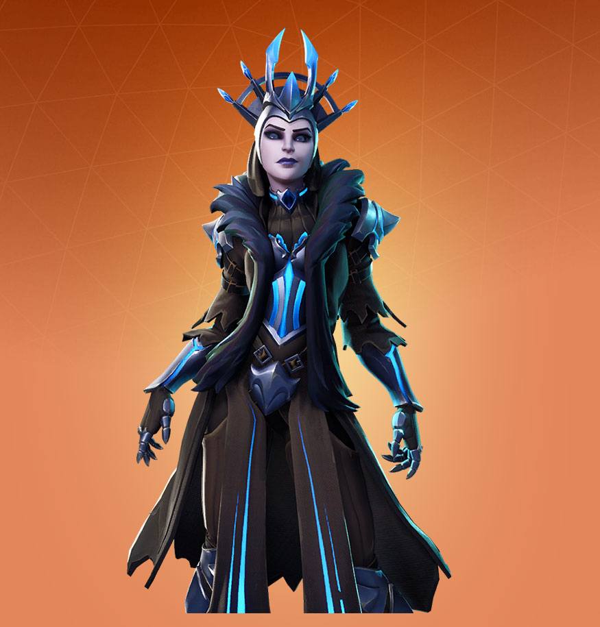 Fortnite The Ice Queen Skin Outfit Pngs Images Pro Game Guides