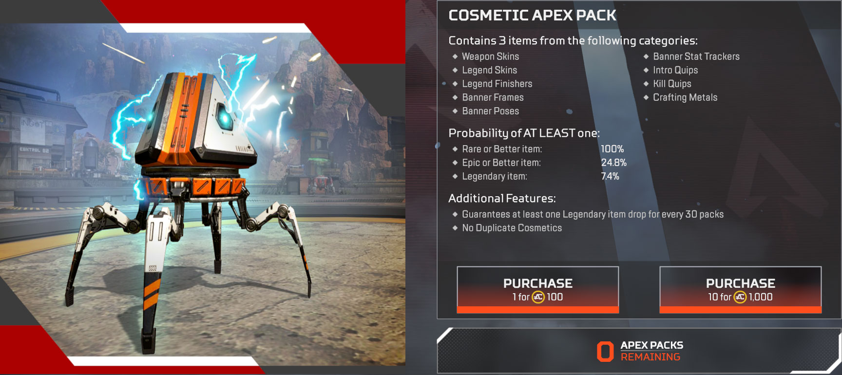 Apex Legends How to Get Apex Coins, Legend Tokens, & Crafting Metals