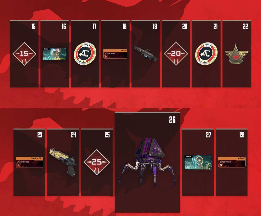 Apex Legends Battle Pass (Season 1: Wild Frontier) Guide
