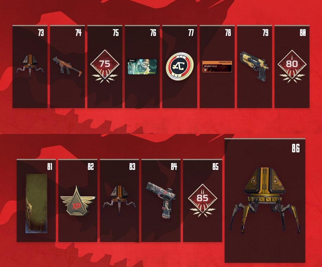 Apex Legends Battle Pass (Season 1: Wild Frontier) Guide – Tiers