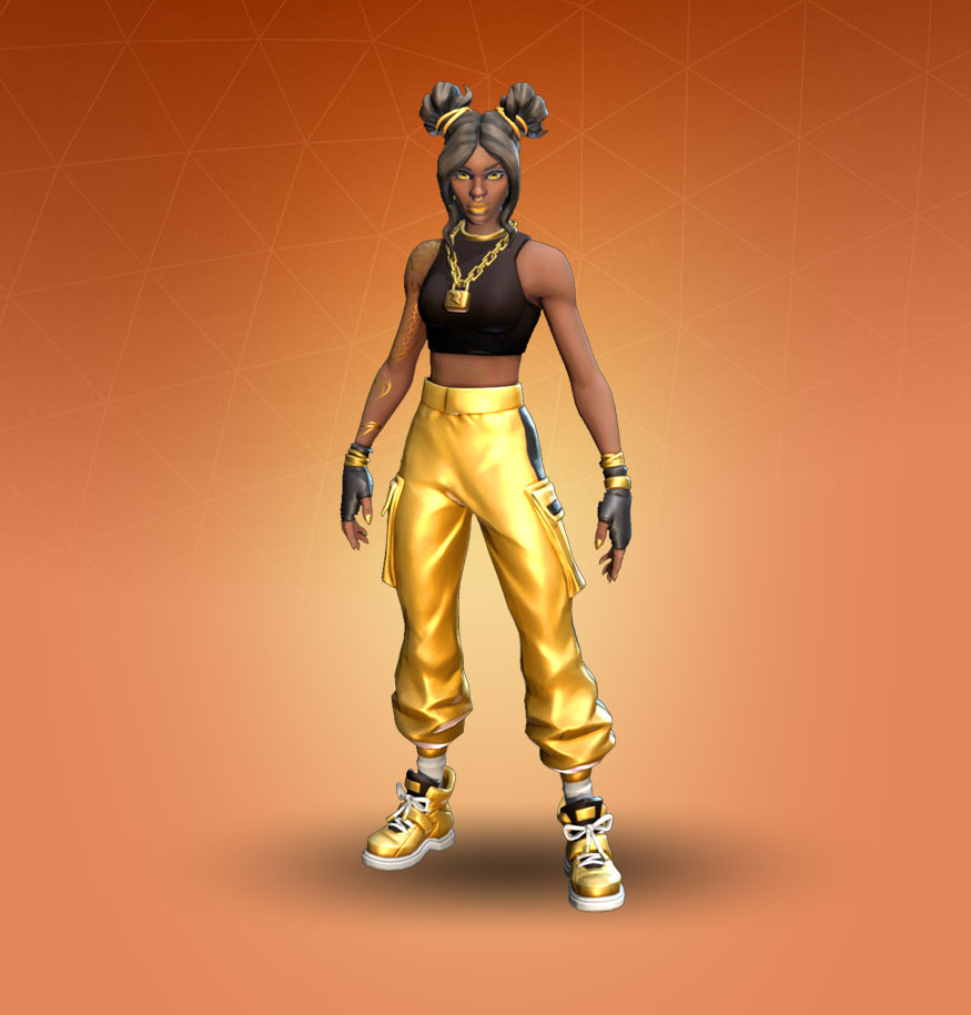 Roblox Gold Skin Fortnite Luxe Skin Character Png Images Pro Game Guides