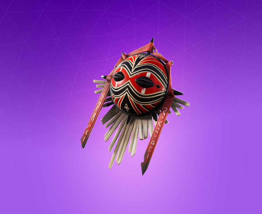 Battle Mask Back Bling