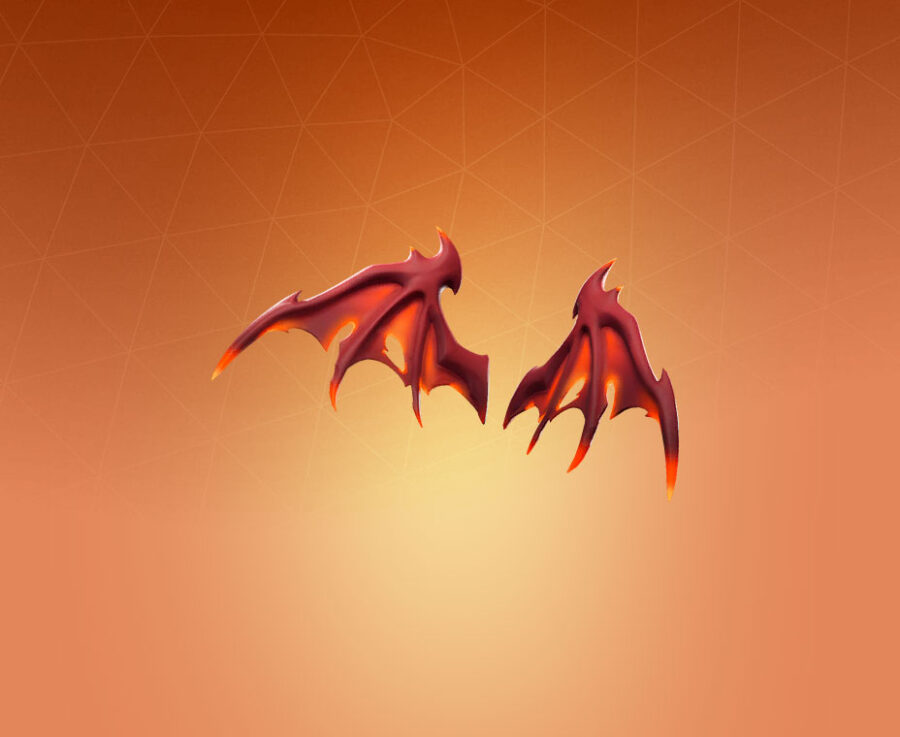 Malice Wings Back Bling