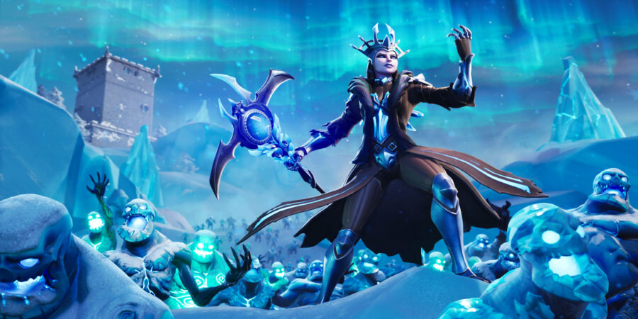 The Ice Queen Loading Screen