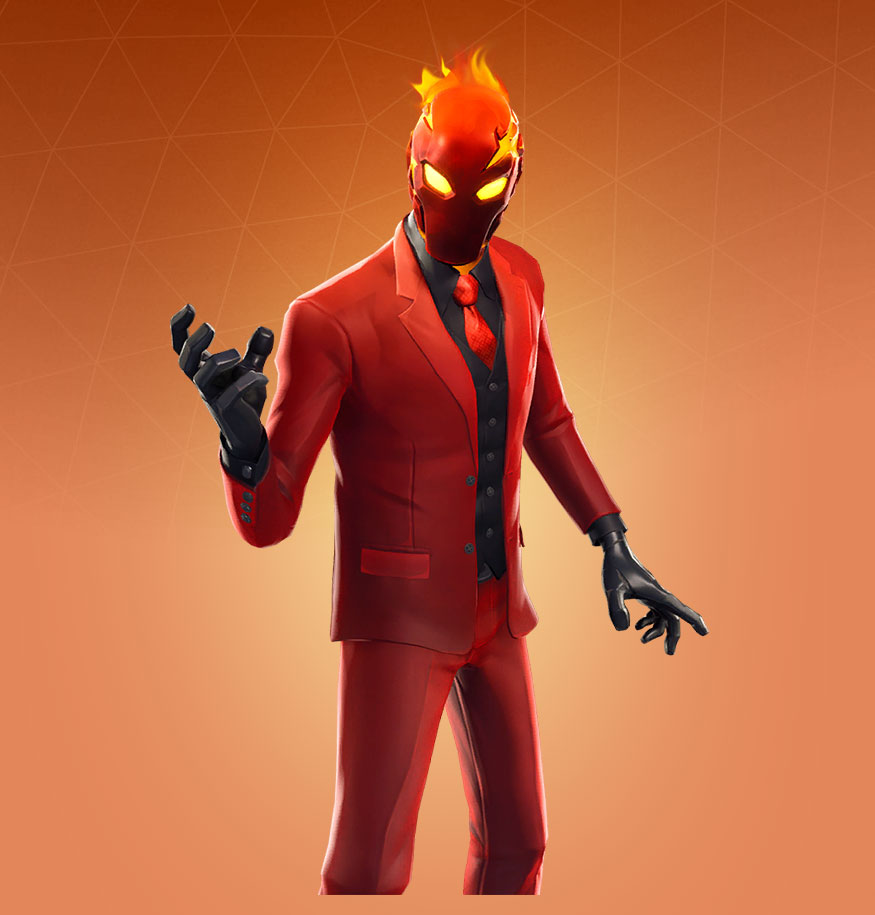 Fortnite Inferno Skin Outfit Pngs Images Pro Game Guides