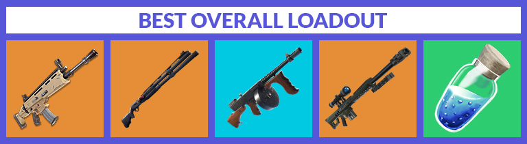best overall loadout for season 9 - fortnite save the world best weapons