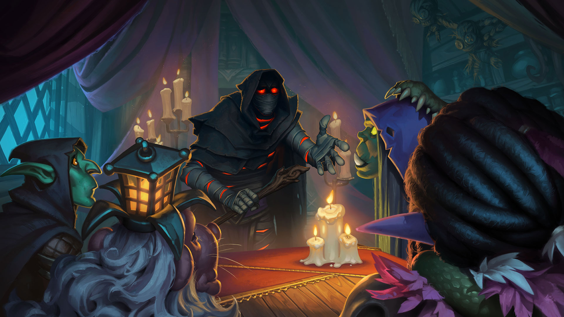 Hearthstone Rise of Shadows Wallpapers