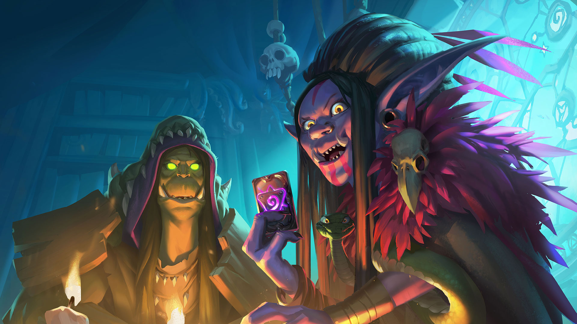 Hearthstone Rise Of Shadows Wallpapers Hd Mobile Desktop Pro