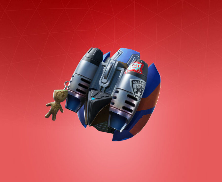 Star-Lord Pack Back Bling