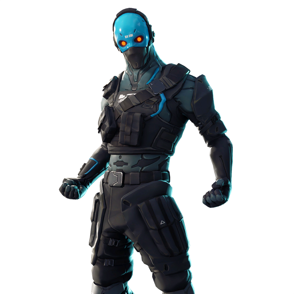 Fortnite Cobalt Skin Outfit Pngs Images Pro Game Guides
