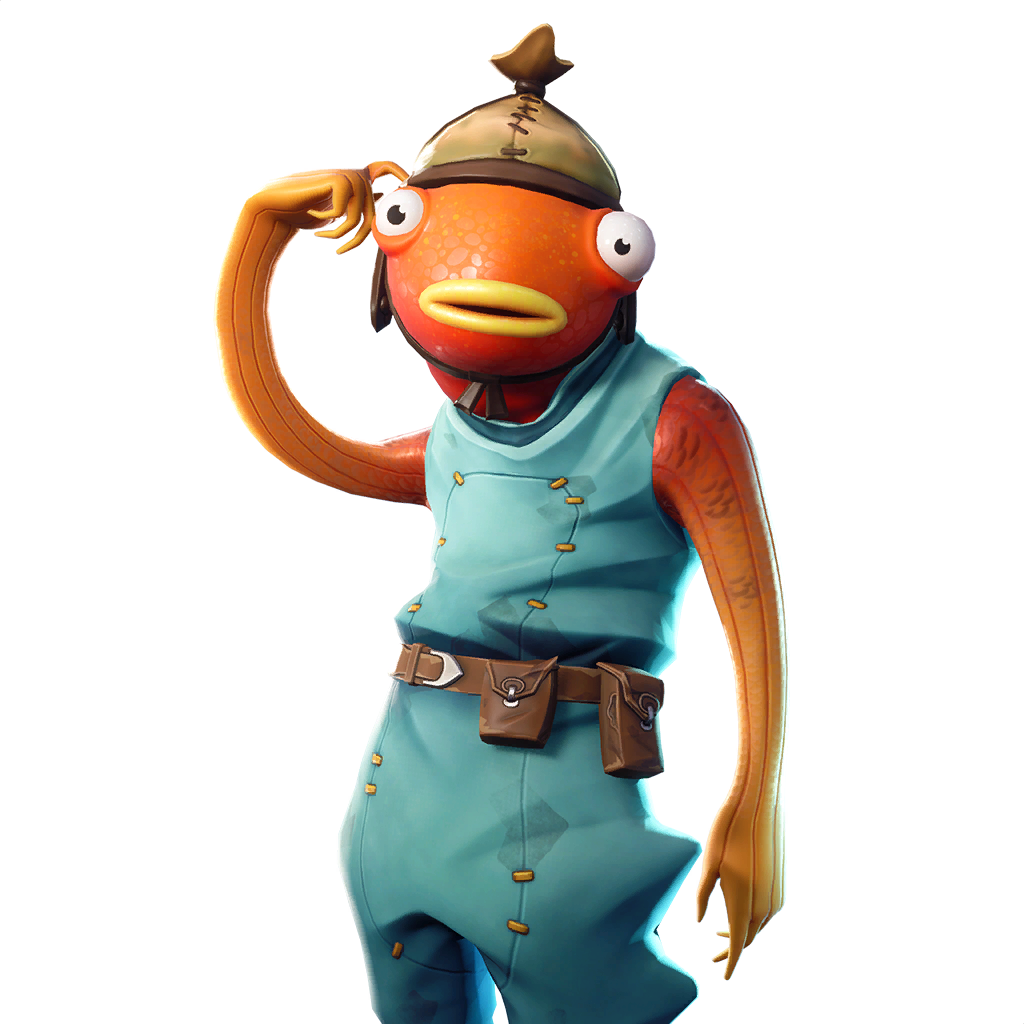Fortnite Fishstick Skin - Character, PNG, Images - Pro ...