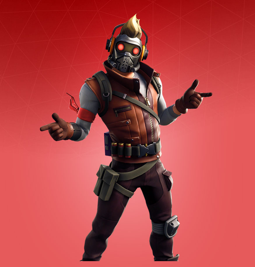 Fortnite Star Lord Skin Outfit Pngs Images Pro Game Guides