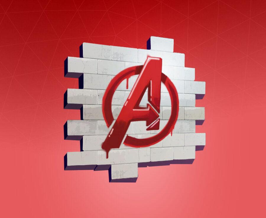 Avengers Logo Spray