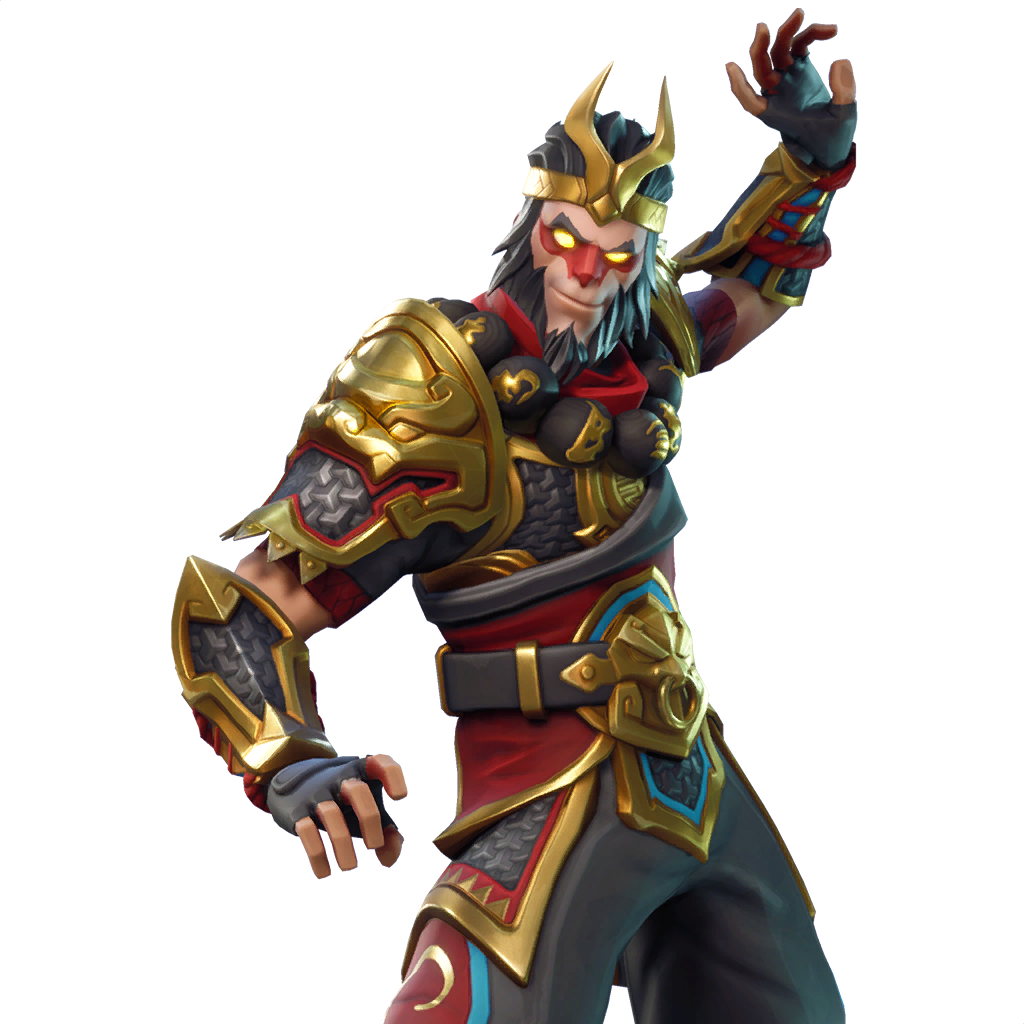 Fortnite Wukong Skin Outfit Pngs Images Pro Game Guides - wukong set