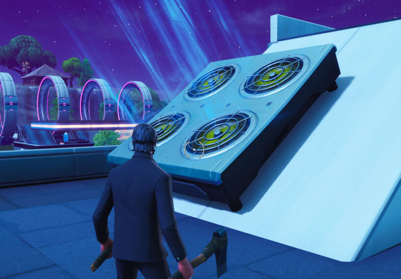 if you jump on these you become immune to fall damage and you are launched a short distance could be useful for getting out of a sticky situation - all air vents fortnite