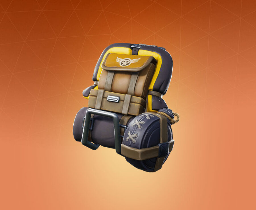 Bomber Bag Back Bling