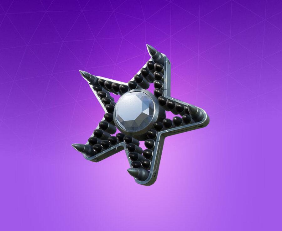 Diamond Star Back Bling