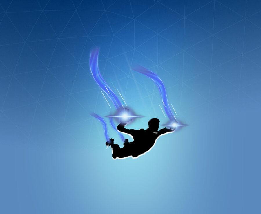 Blue Fusion Contrail